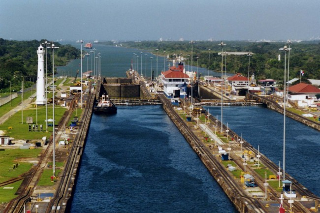 Panama Canal | © User:Stan Shebs/WikiCommons