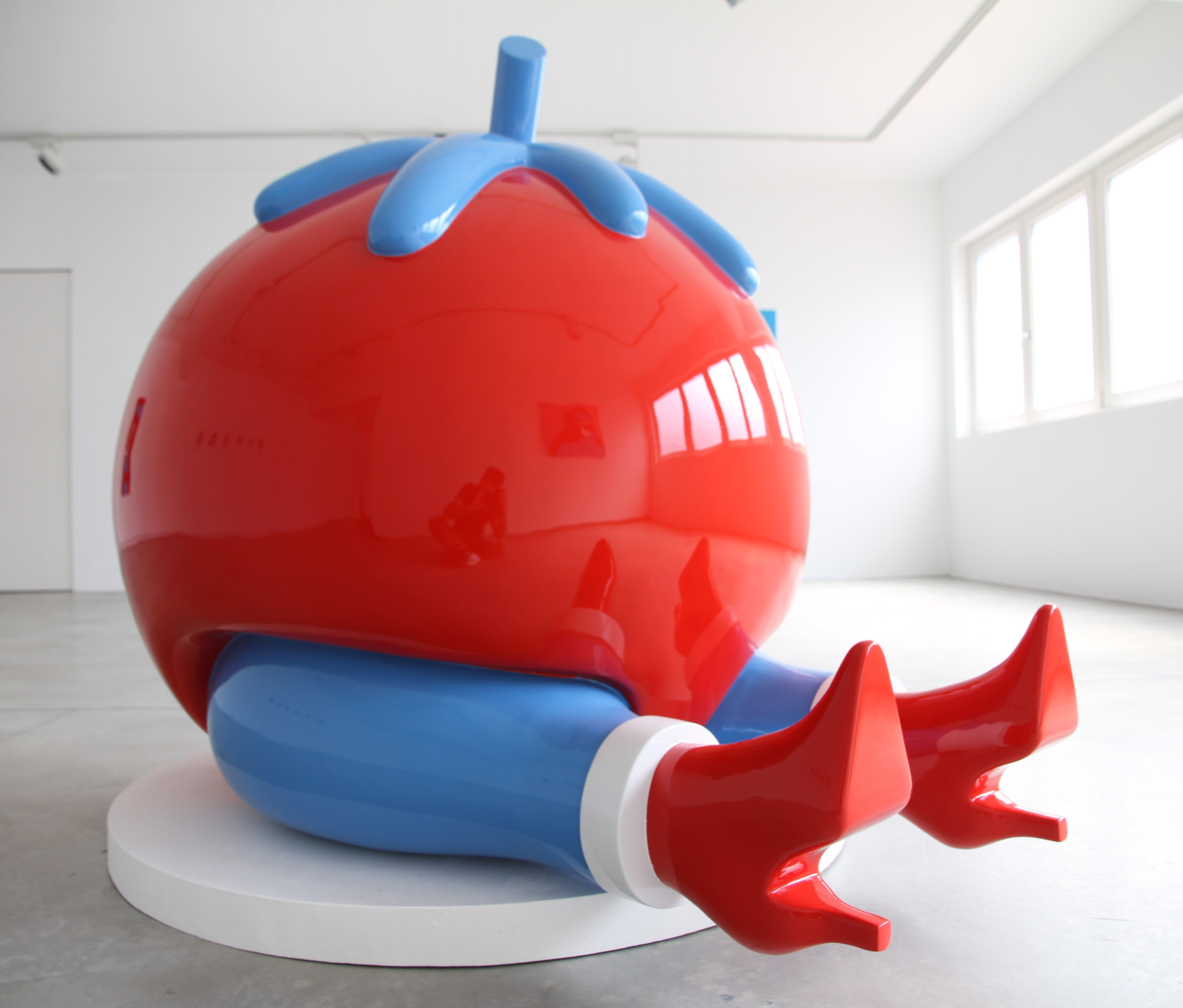 Give Up sculpture by Parra, a part of the permanent exhibition | Courtesy of the MIMA Museum