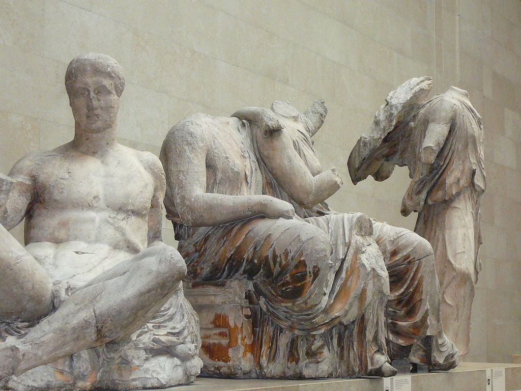 Statuary from the East Pediment | © Ejectgoose/WikiCommons