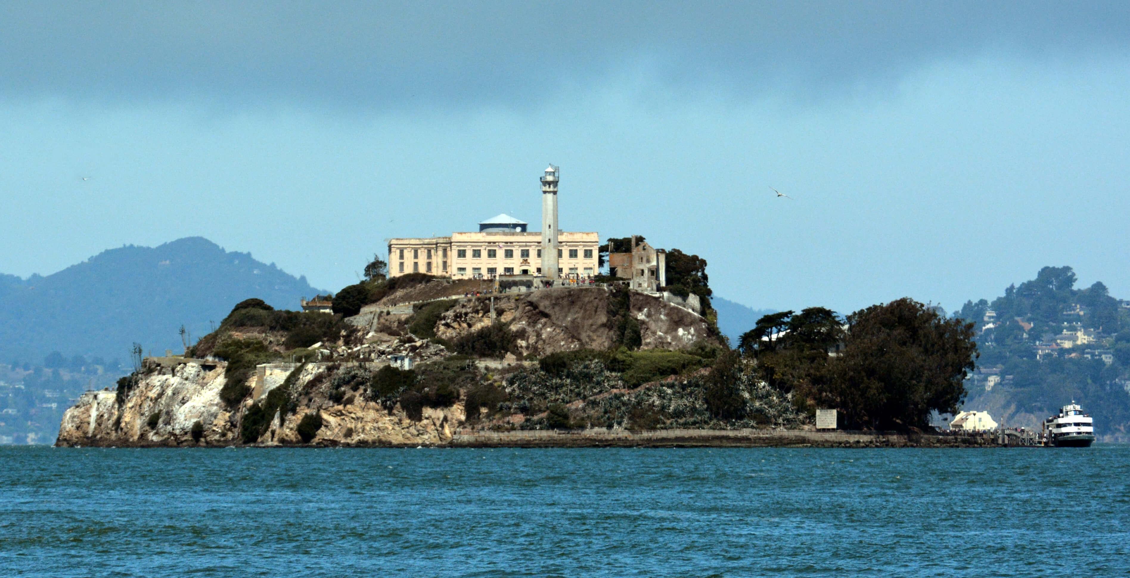 Alcatraz Island © WPPilot/Wikipedia