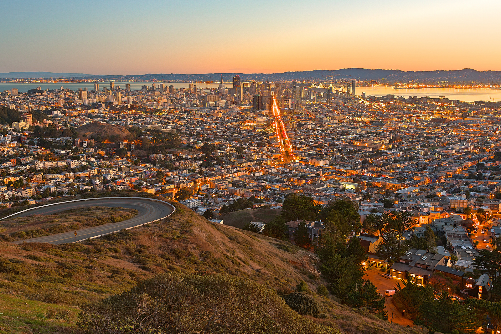 View From Atop Twin Peaks © Nicolas Raymond/Flickr