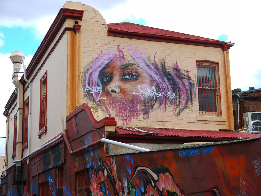 Pink Lady By Adnate, Duke St, Windsor l © Ash Seagrave