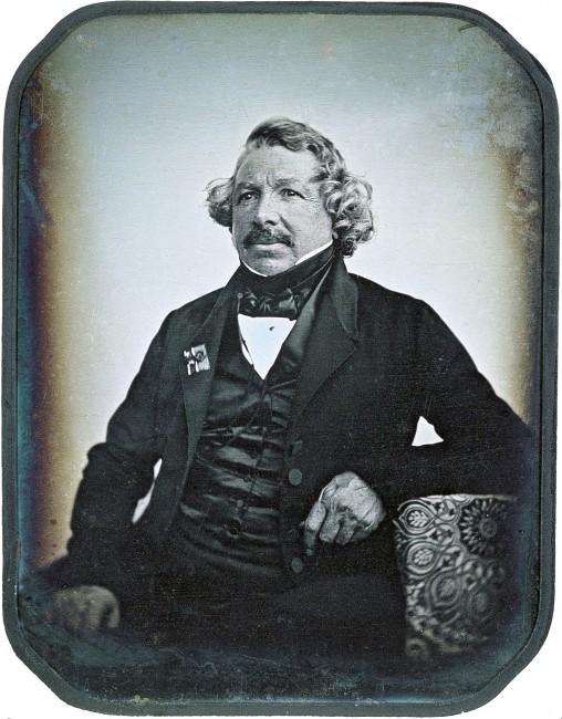 Portrait of Louis Daguerre, a daguerreotype image similar to what Richard Carr worked with. © Jean-Baptiste Sabatier-Blot