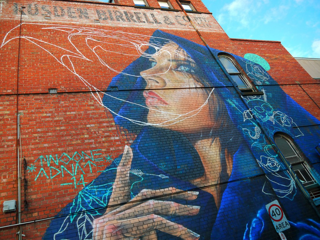 Spirit Anima By AWOL Crew, Johnston St, Fitzroy l © Ash Seagrave