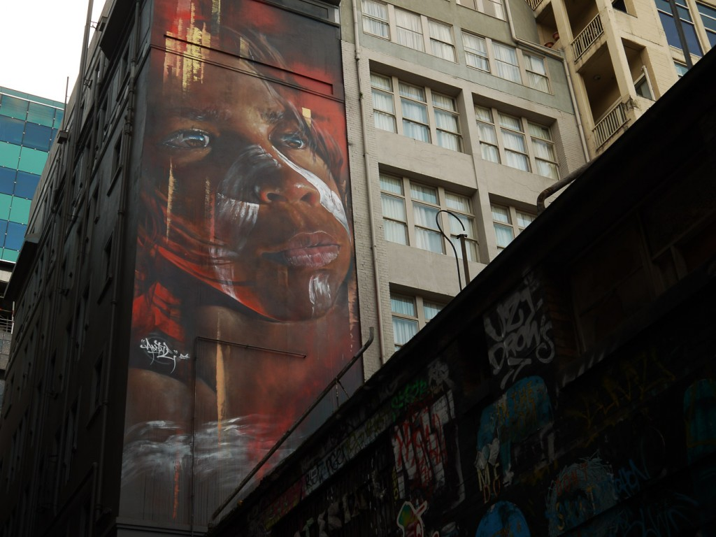 Indigenous boy by Adnate l © Ash Seagrave