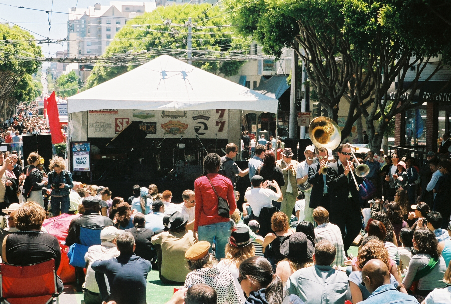 Performance at the Fillmore Jazz Festival | © Charles Wagner aka ChumpChange/Flickr