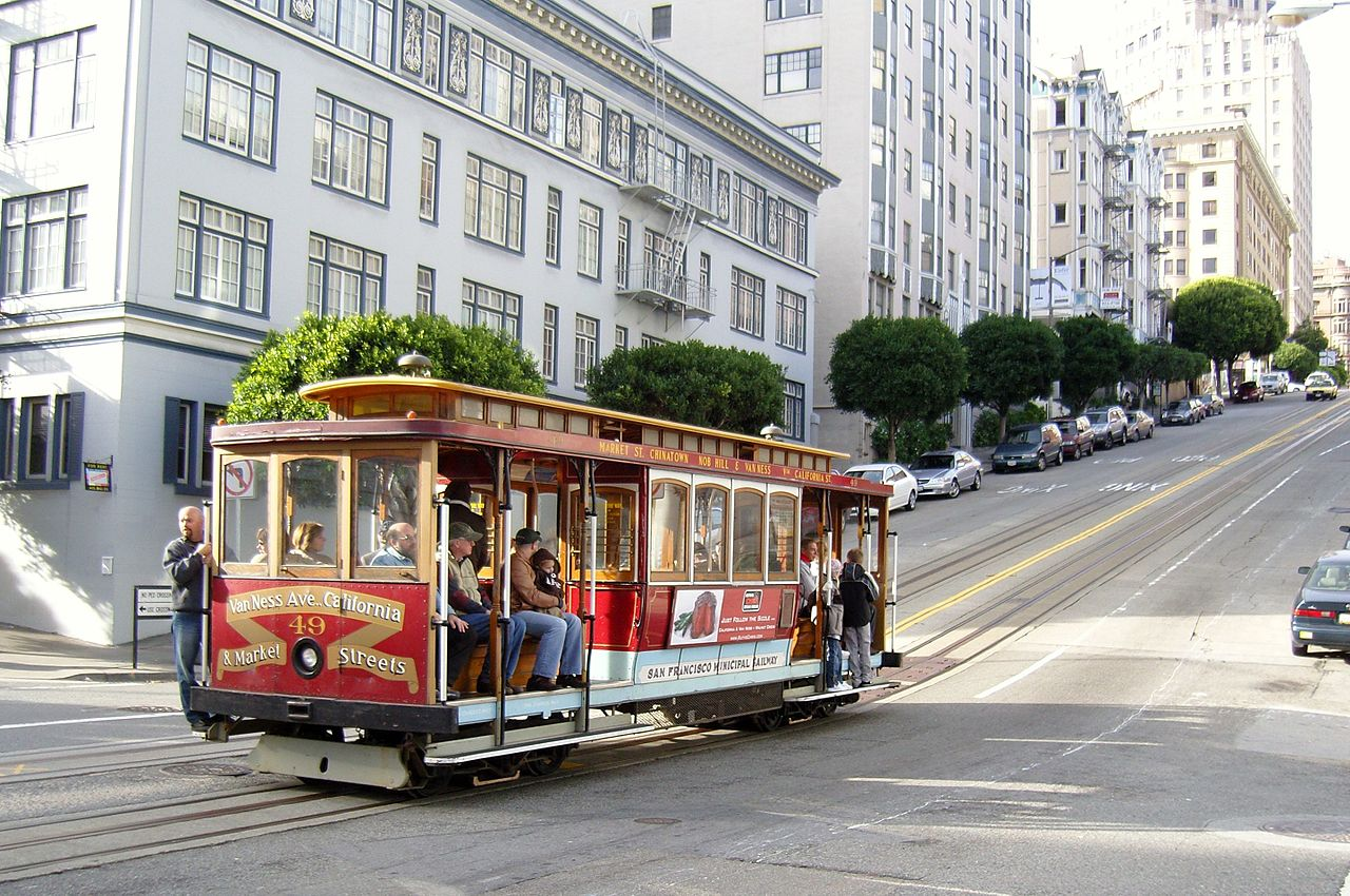 San Francisco Cable Car© Fred Hsu/Wikimedia