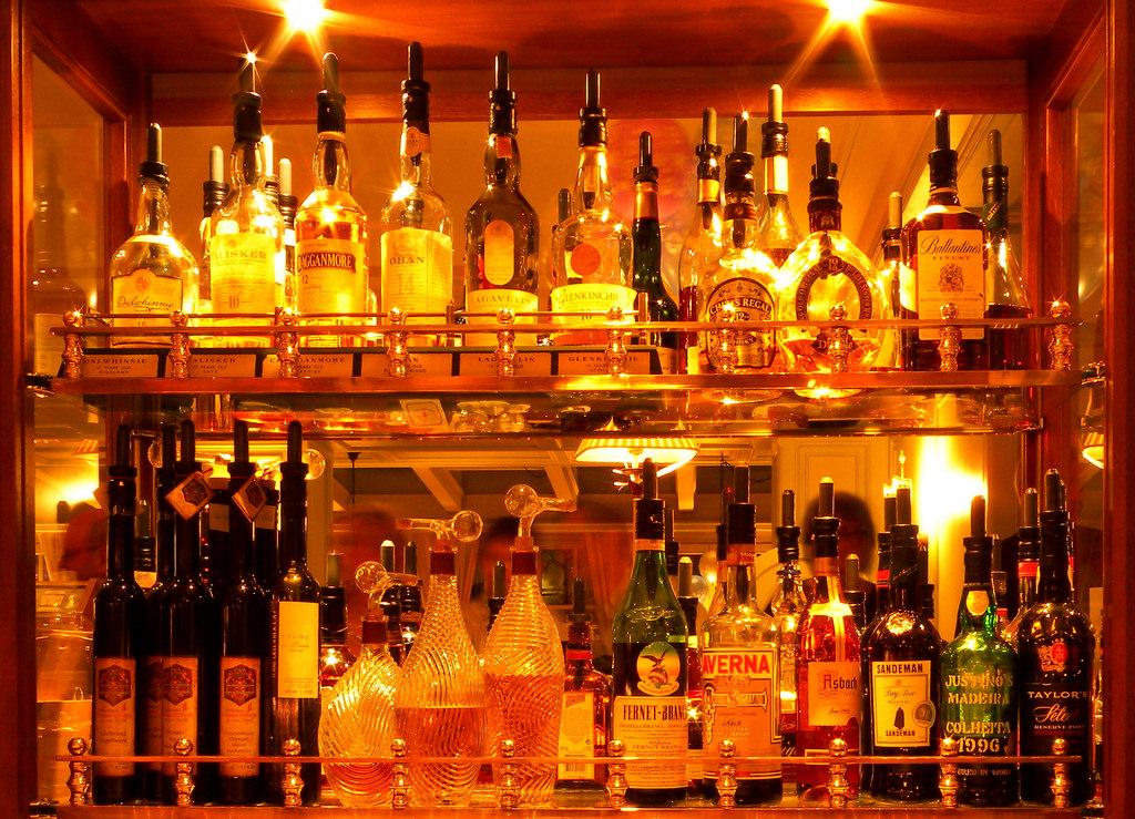 Liquor Cabinet © xlibber/Flickr