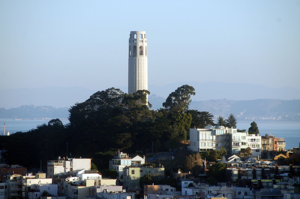 Coit Tower © Brian Hillegas/Flickr
