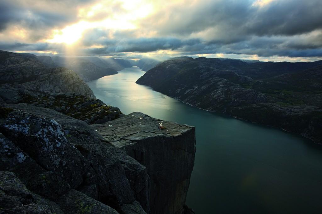 Preikestolen, Norway | Courtesy Reisemål Ryfylke A/S, Photo by Majola