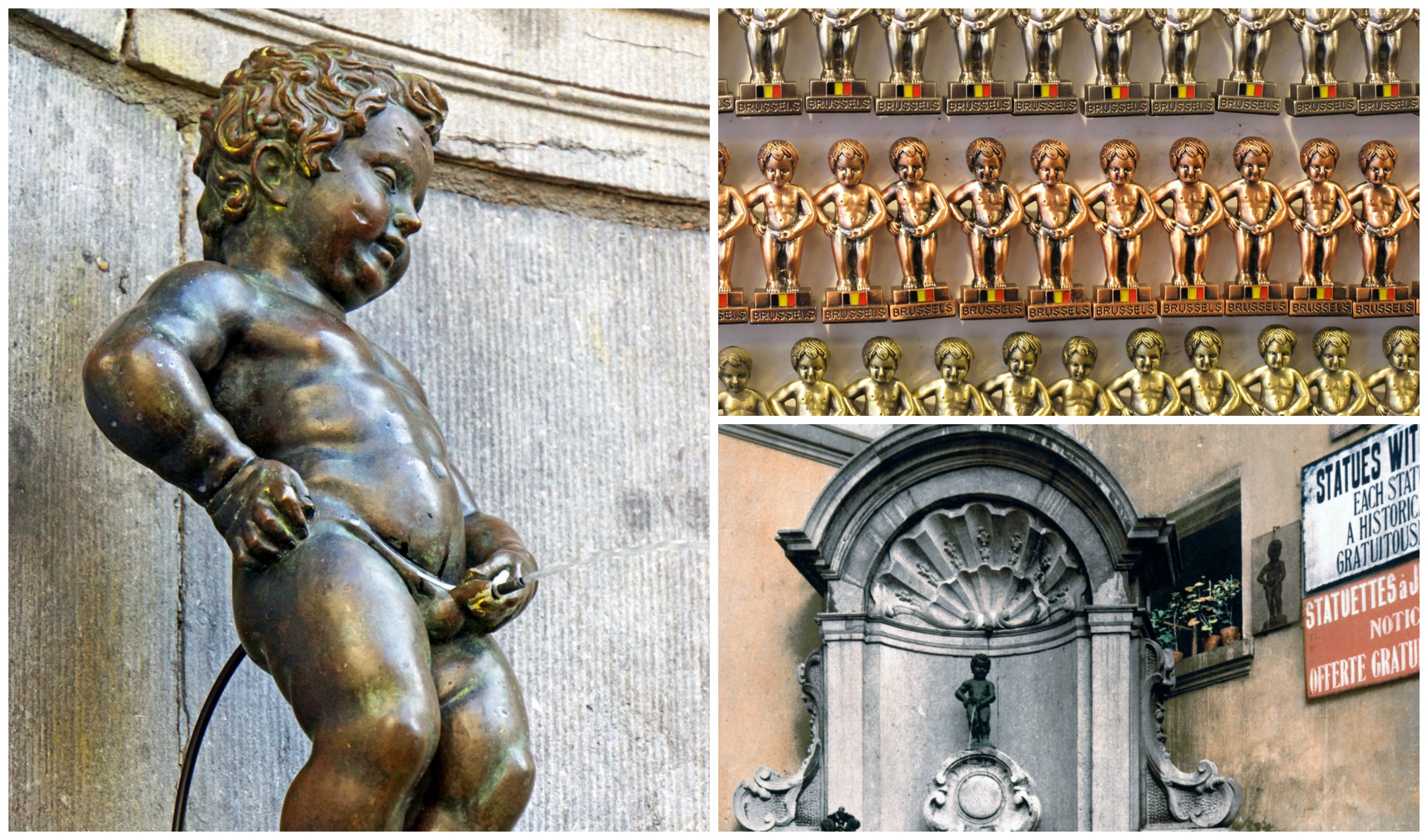 The History Of Manneken Pis Brussels In 1 Minute
