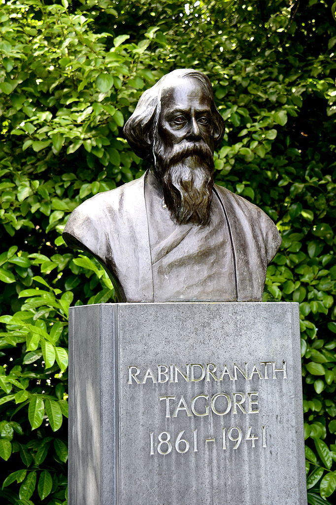 Rabindranath Tagore's bust at St Stephen Green Park, Dublin | WikiCommons