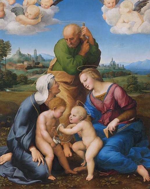 The Canigiani Madonna © Web Gallery of Art / WikiCommons