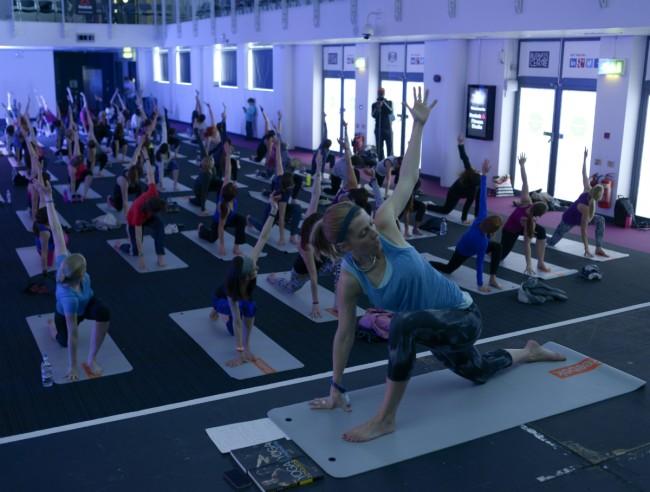 Reebok Fitness Studio | Courtesy of Be:Fit London