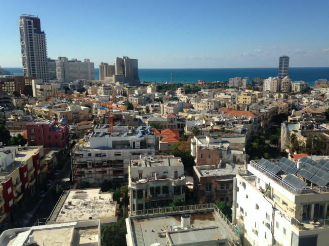 Bird's-eye view of Tel Aviv   © Sharon Brand