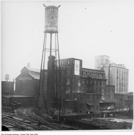 Maple Leaf Milling Co. and Campbell Flour Mills Co. Ltd. | Public Domain/City of Toronto Archives