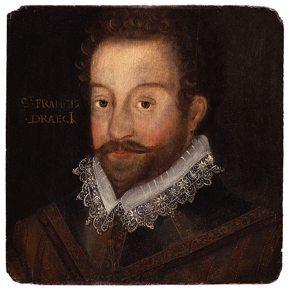 Sir Francis Drake © National Portrait Gallery/WikiCommons