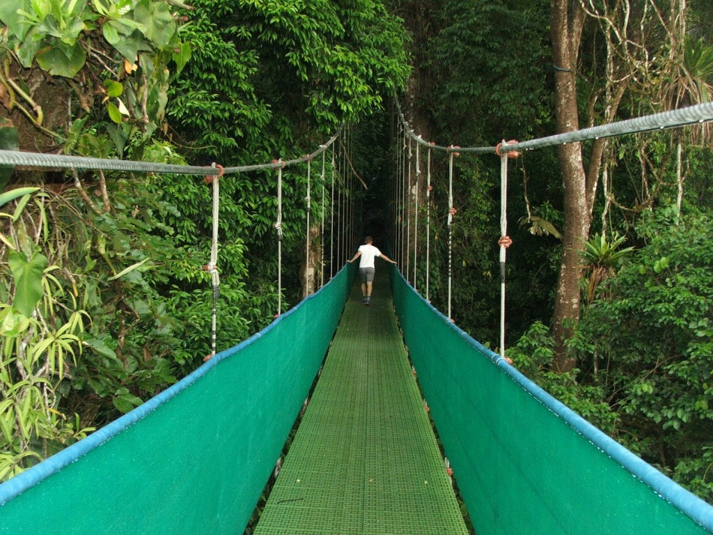 Sky Walk, Arenal Rainforest, Costa Rica | © Barbara Nemcova/Flickr