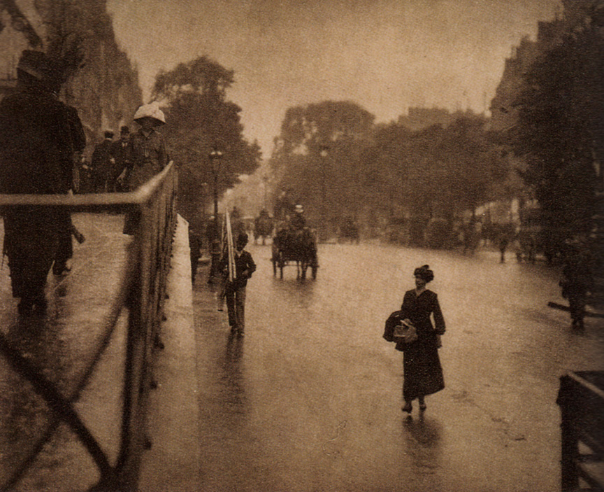 A Snapshot: Paris, 1911 (one of two with same title)| © Alfred Stieglitz/wikicommons