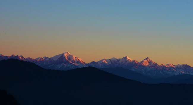 Sunrise View From Mandala, Arunchal Pradesh | © Koshy Koshy/Flickr