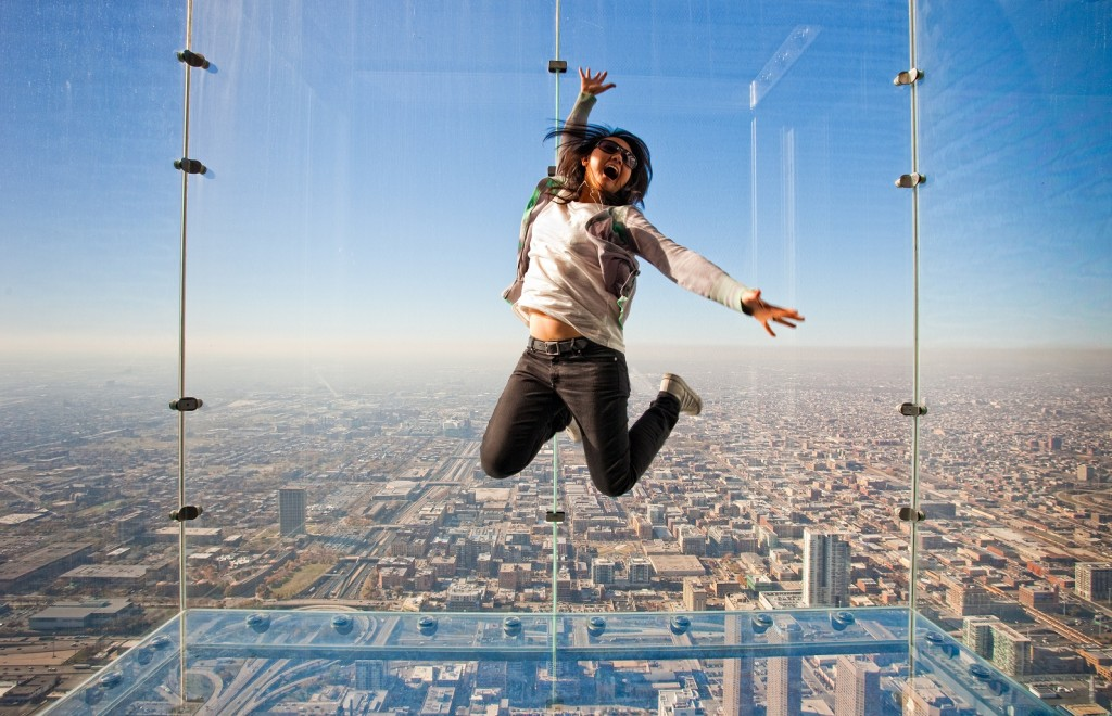 The Ledge at The Skydeck, Chicago, USA | Courtesy The Skydeck