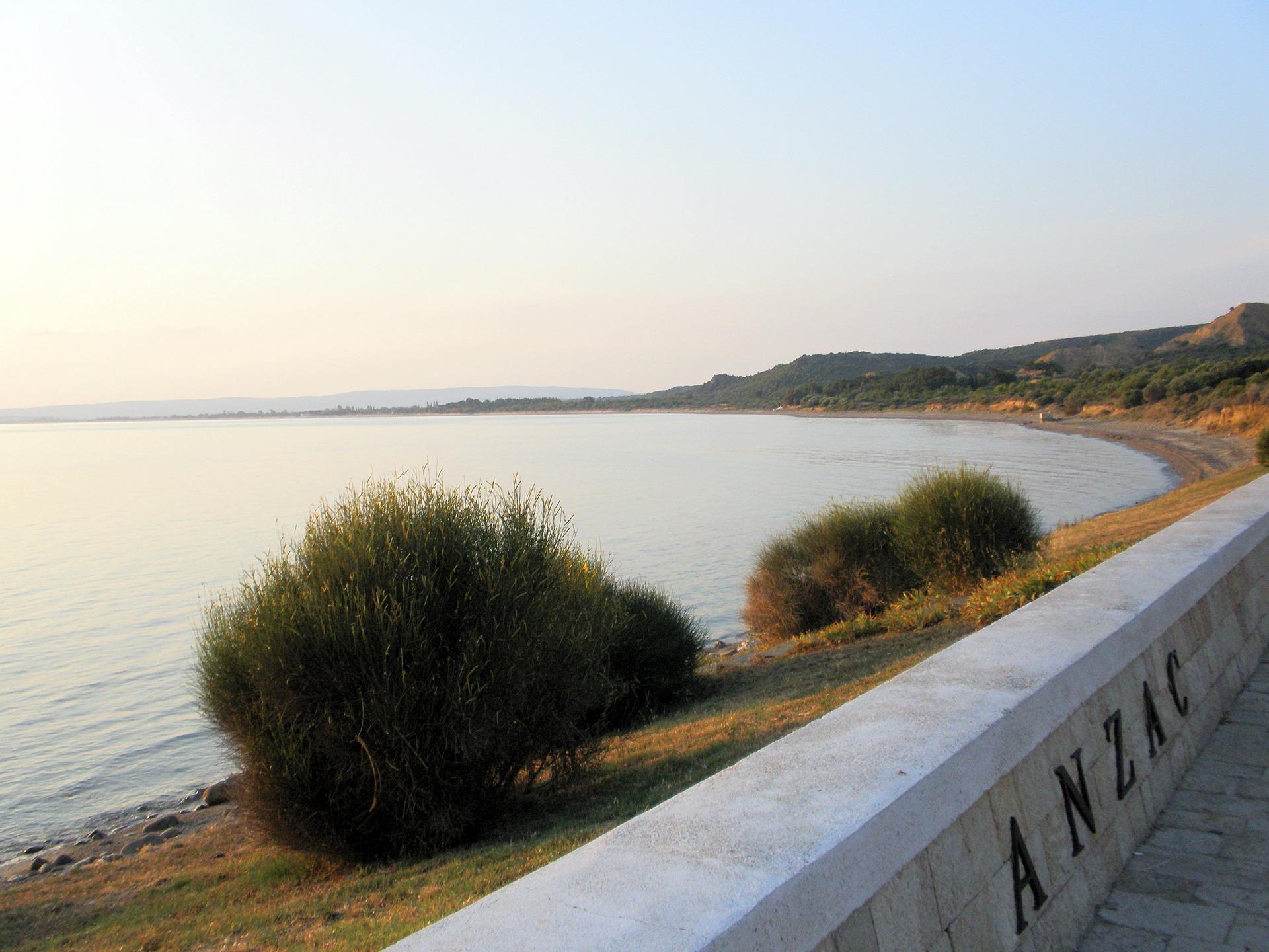 Anzac Cove, Gallipoli | © baklava / Pixabay