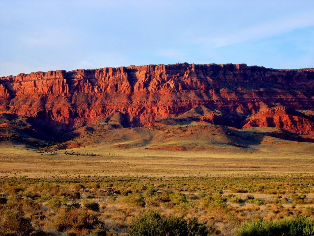 Vermilion Cliffs from Highway 89, Arizona, USA | © Erik Voss/WikiCommons