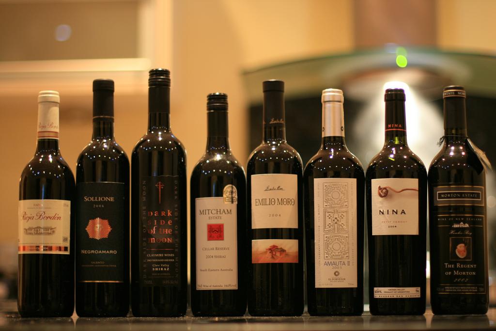 Wine selection| © Greg Pye/flickr