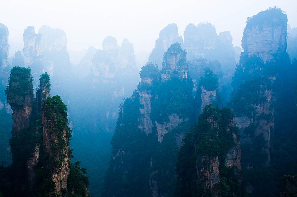 Zhangjiajie National Forest Park, Hunan, China | © Severin.stalder/WikiCommons