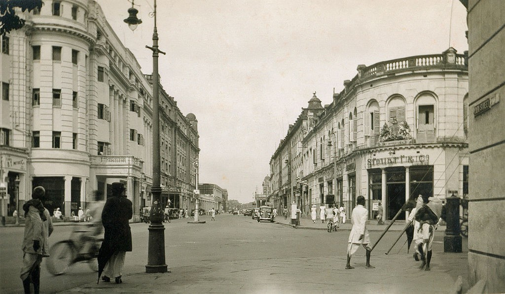 Park Street, Calcutta 1930s/©Unknown/WikiCommons