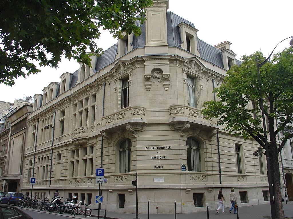 Ecole Normale de Musique de Paris | ©Wikipedia Commons