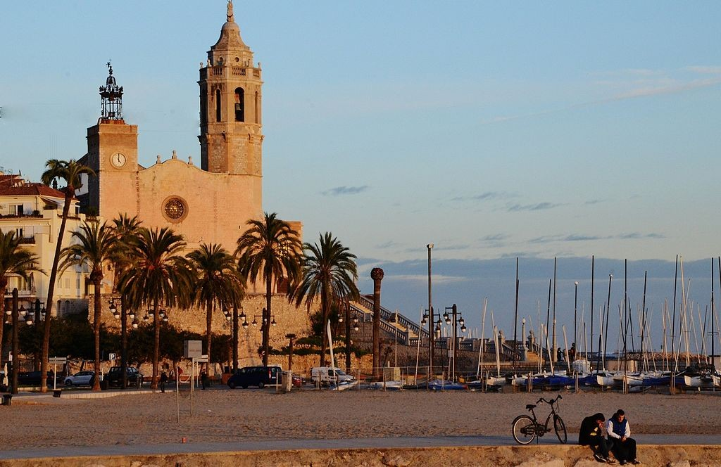 The church at Sitges   © MARIA ROSA FERRE ✿ / WikiCommons