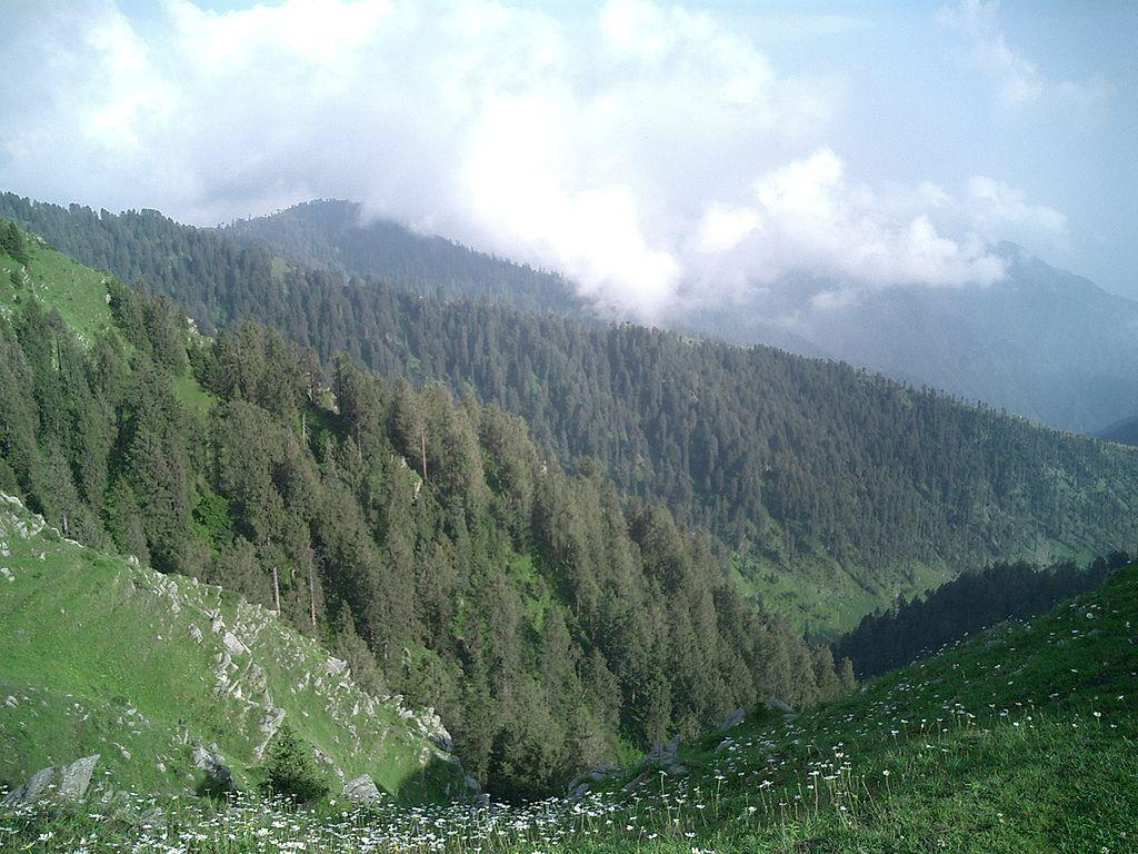 Dalhousie Hills | © prakhar/WikiCommons