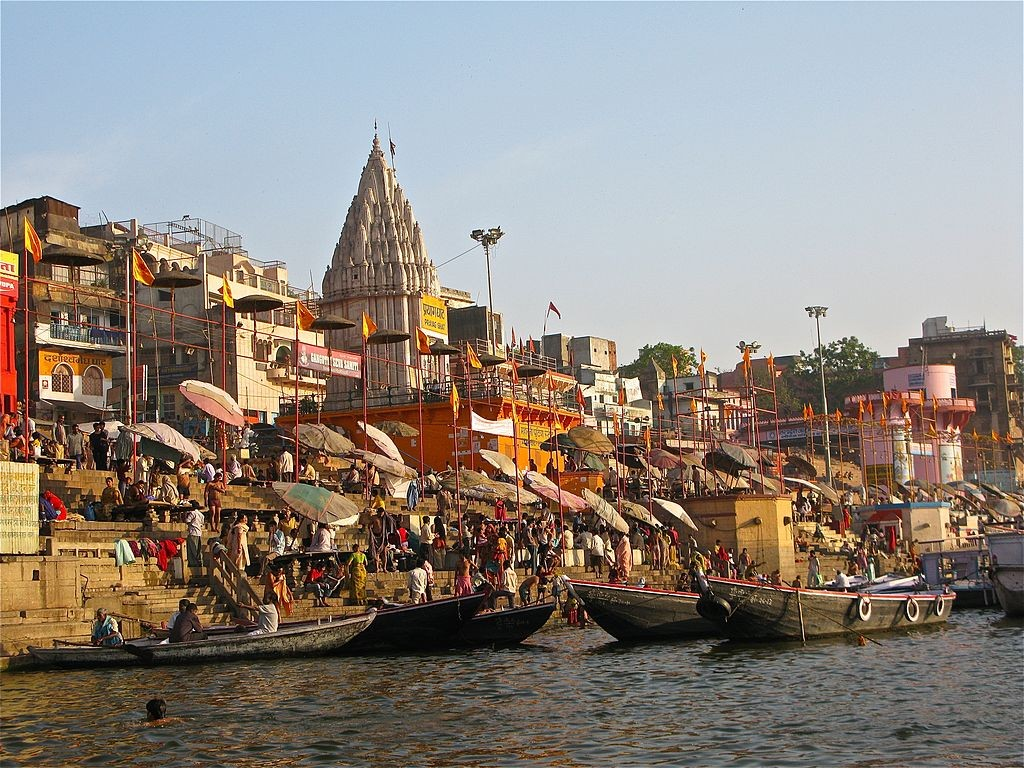 years ago a photo essay varanasi or banaras ghats in 1922 and 2009