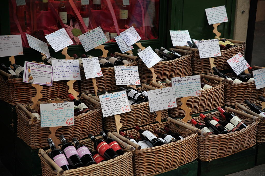 Paris Wine - © Thomas van de Weerd/Wikicommons