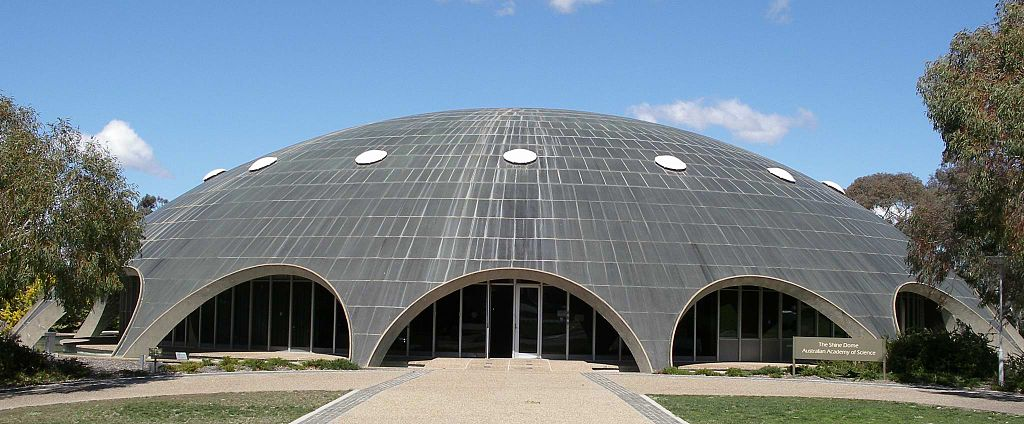 The Shine Dome designed by Roy Ground, © Petaholmes, Wikki Commons