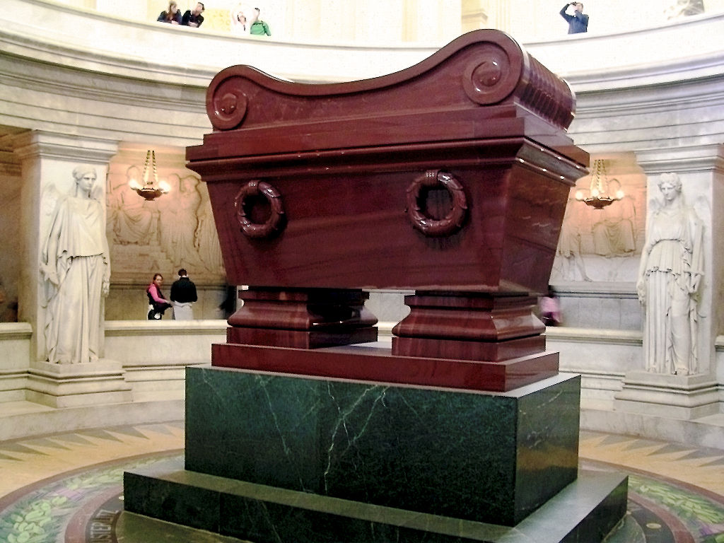 Napoleon Bonaparte's tomb | © Willtron/WikiCommons