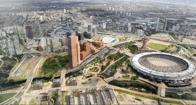 Olympicopolis brings the smithsonian to the olympic park for Kitchen designs east london south africa
