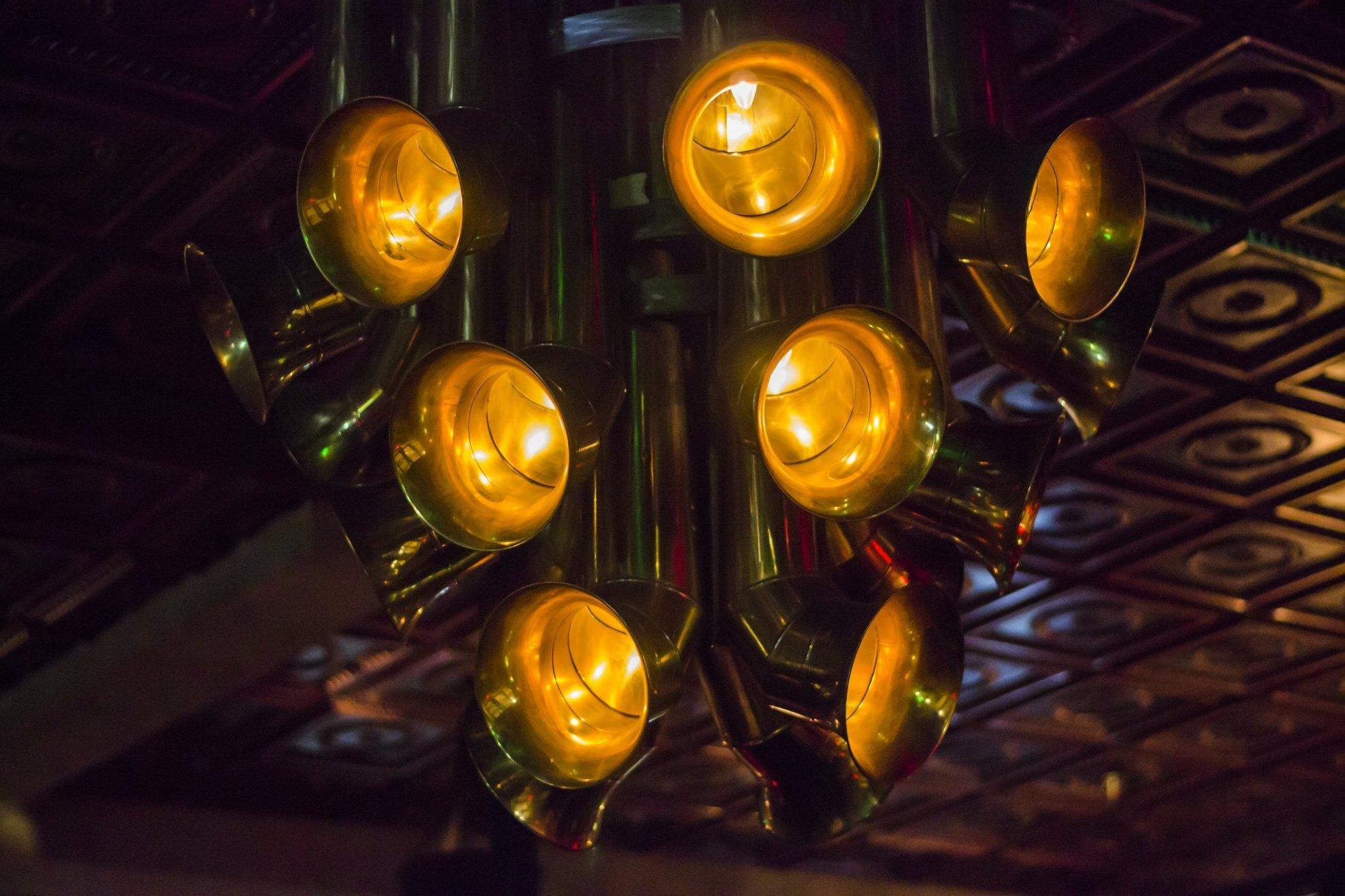 Instrumental Lights in The Blue's Kitchen   © MsSaraKelly / Flickr