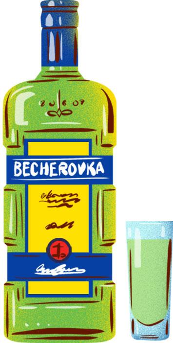 Becherovka   © Eating Prague Tours