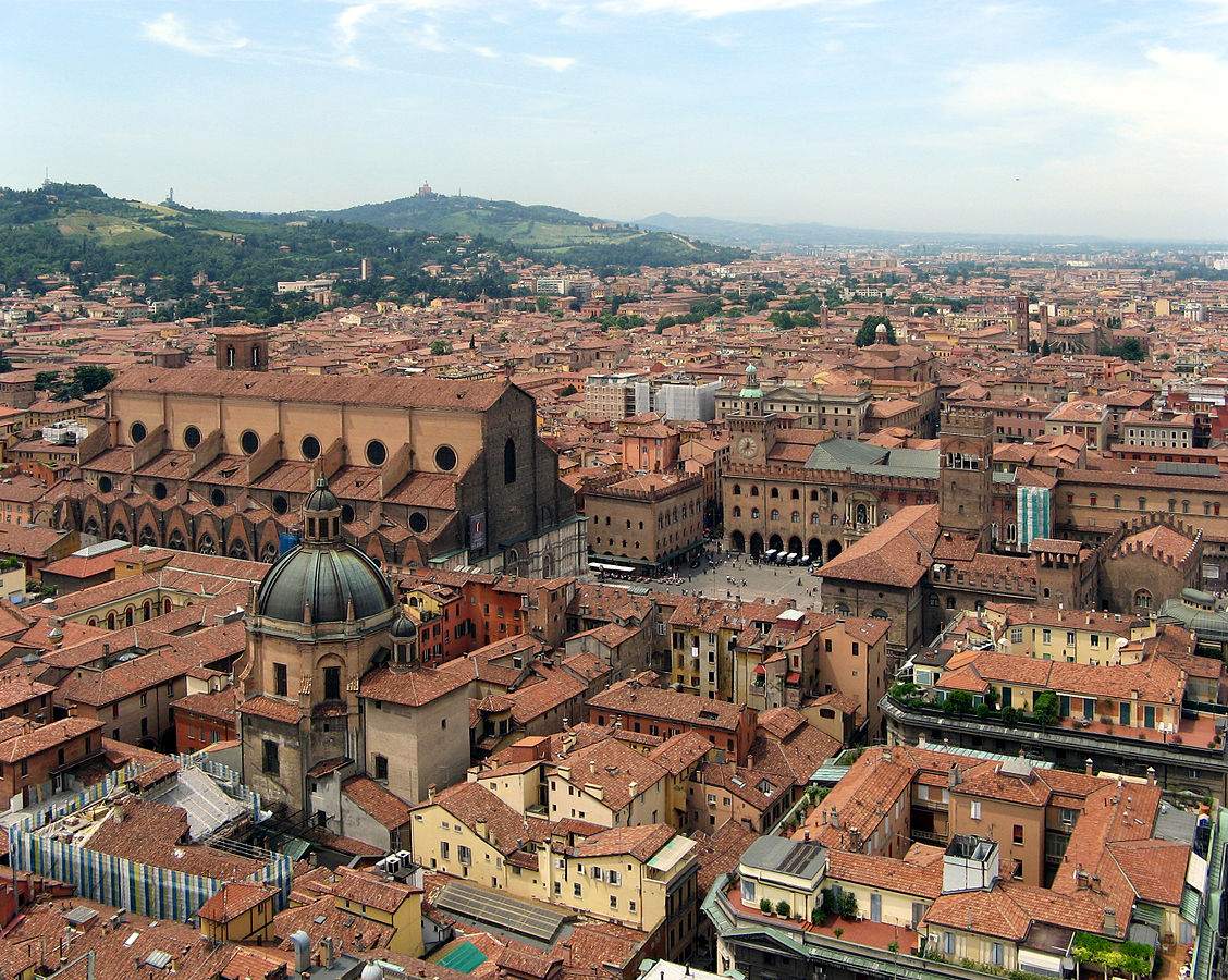 Bologna from above | © Szs/WikimediaCommons