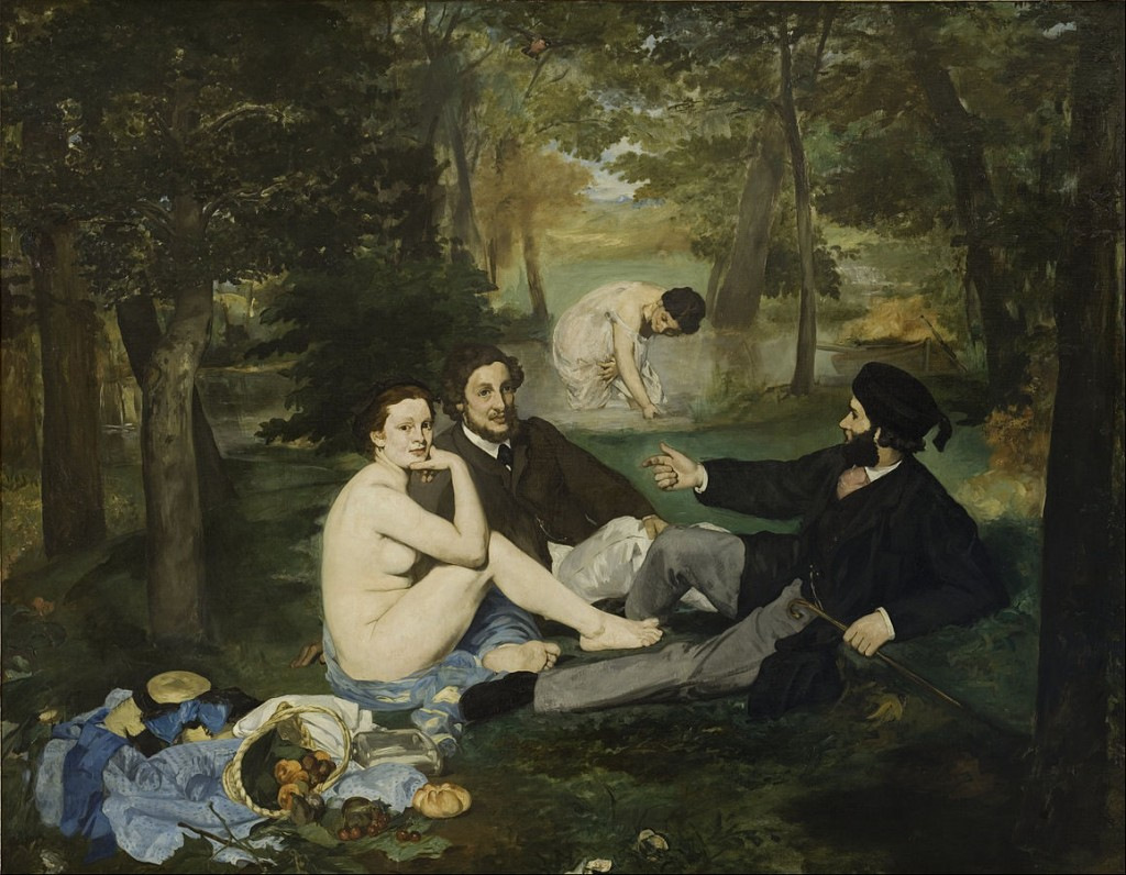 """Luncheon on the Grass"" by Edouard Manet 