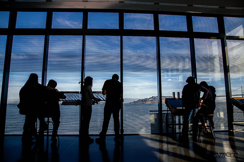 The view from the new location of the Exploratorium © Sonny Abesamis/flickr