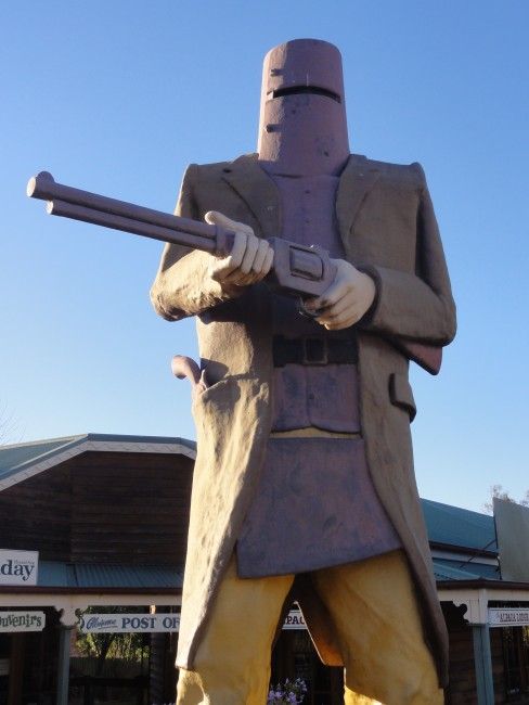 The Big Ned Kelly © Lu Barnham