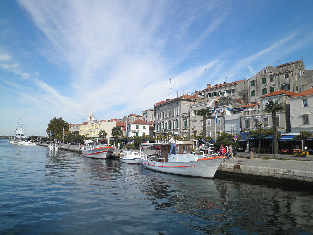 The harbor of Sibenik | © Macic7/WikimediaCommons