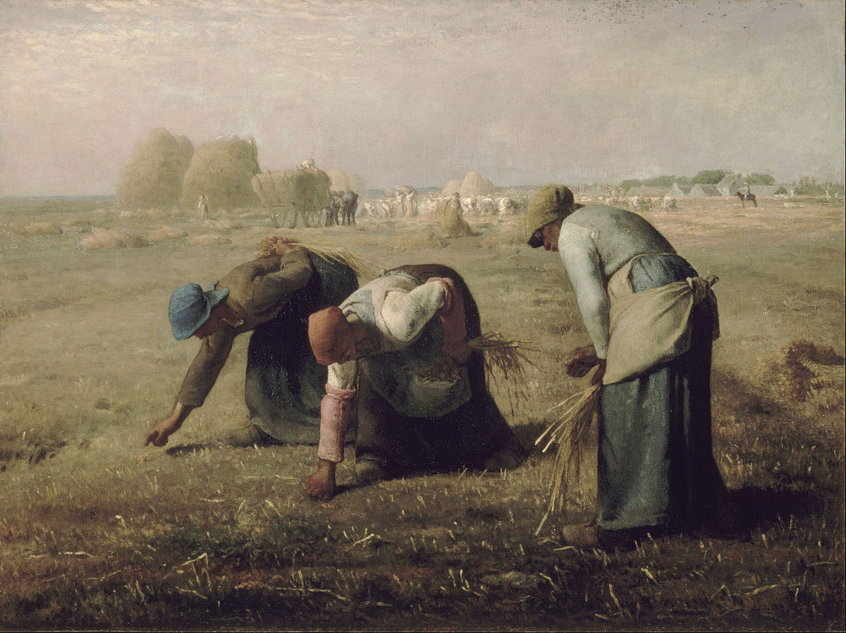 """""""Gleaners"""" by Jean-François Millet 