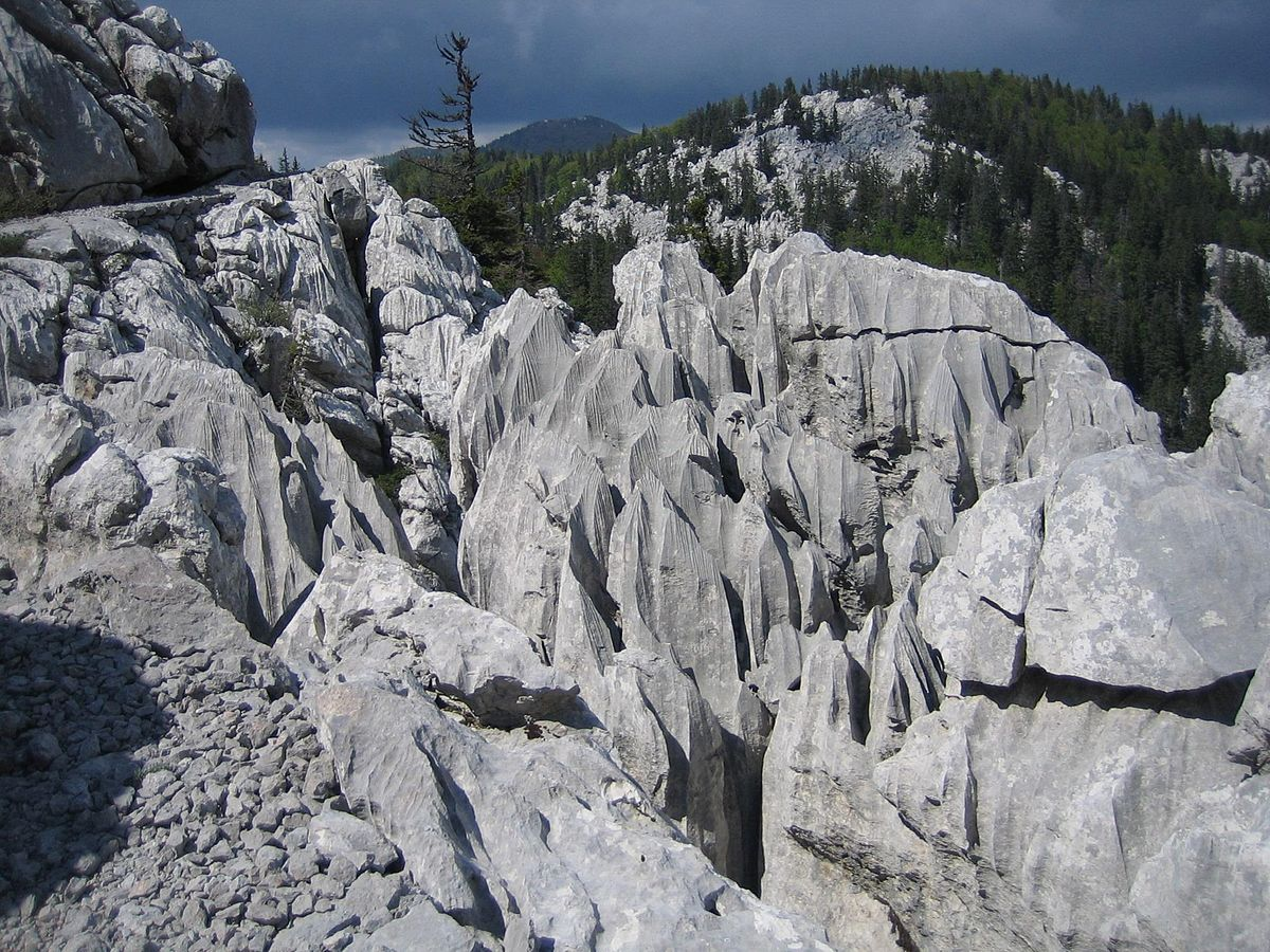 Velebit Mountain | © Rootmaker/WikimediaCommons