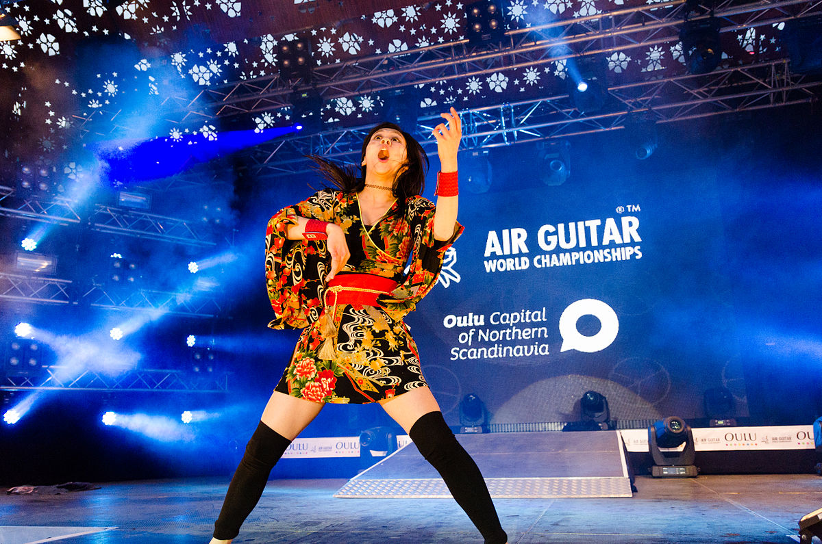 Air Guitar World Champion 2014 | © Aleksi Ollila/WikiCommons