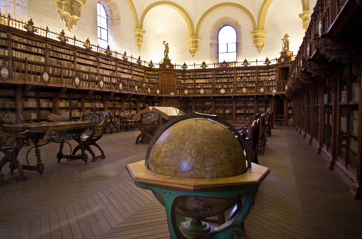 The Old Library at the University of Salamanca | © Antoine Taveneaux/WikimediaCommons