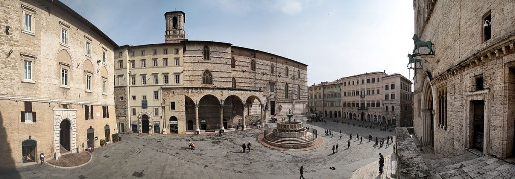 A panorama of Perugia | © Luca Vanzella/WikimediaCommons